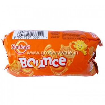 Sunfeast Bounce Tangy Orange Biscuits