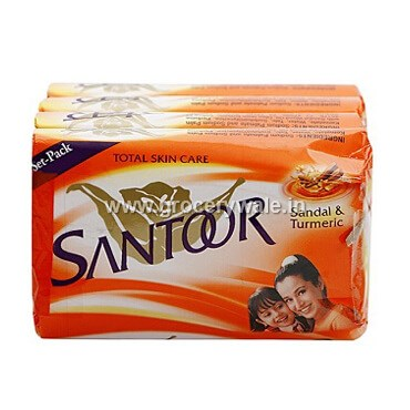 Santoor Bathing Soap Sandal & Turmeric