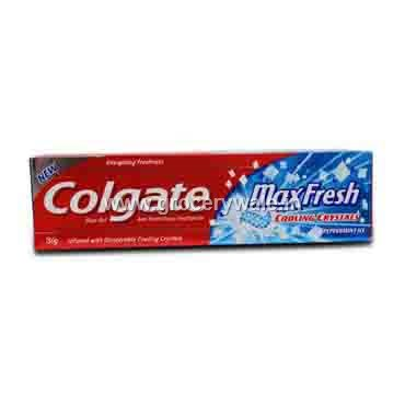 Colgate Max Fresh Cooling Crystals Blue Gel