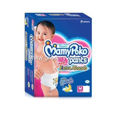 Mamy Poko Pants Medium Size Diapers