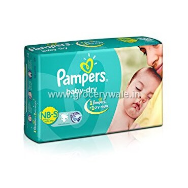 Pampers Baby Dry Small Size Diepers