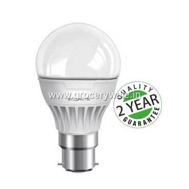 Compact LED Bulb-5 W (Colour White, Base B22)