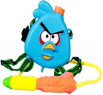 Angry Bird Holi Water Gun With Tank